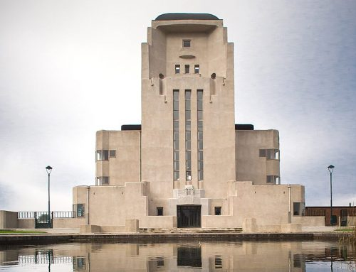 Geschiedenis beton verdwijnt onder een laag cement